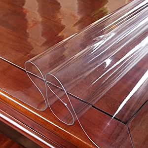 nappe en plastique table nappe en pvc transparent 1 5 mm. Black Bedroom Furniture Sets. Home Design Ideas