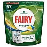 Fairy All in One Lemon Dishwashing Ta...