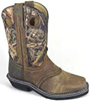 Big Sale Best Cheap Deals Smoky Mountain 6360 Women's Pawnee Square Toe Boot in Brown Oil Distress/Camo 8 M US