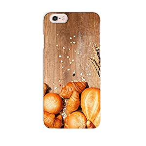 ArtzFolio Assortment Of Baked Bread : Apple iPhone 6S Matte Polycarbonate Original Branded Mobile Cell Phone Designer Hard Shockproof Protective Back Case Cover Protector
