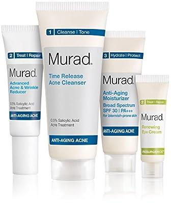 Murad Anti-Aging Acne Anti-Age Starter Kit - 4ct