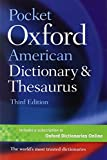 Pocket Oxford American Dictionary & Thesaurus