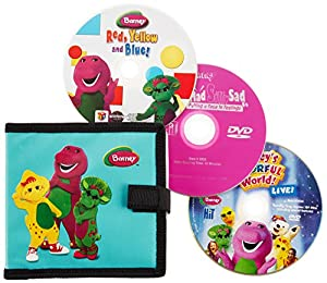 Barney: On-The-Go Pack (Three-Disc Edition)