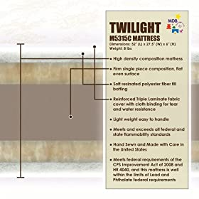 DaVinci MDB Twilight Crib Mattress