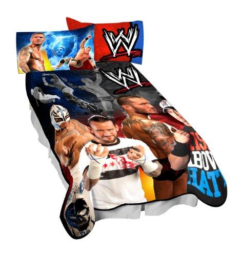 Wwe Wrestling Throw Blankets