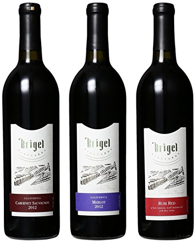 Brigel Vineyards New York Reds Mixed Pack, 3 X 750 Ml