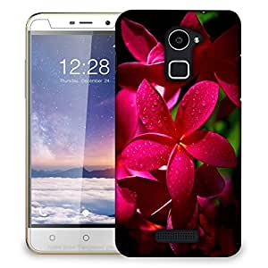 Snoogg Red Flower Designer Protective Back Case Cover For COOLPAD NOTE 3 LITE
