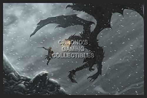"CGC enorme-Poster The Elder Scrolls V Skyrim Xbox 360PS3PS4-eds030, Carta, 24"" x 36"" (61cm x 91.5cm)"