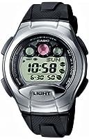 Casio - W-755-1AVES - Montre Homme - Multifonction - Quartz digitale - Bracelet résine