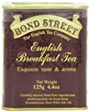 Bond Street English Breakfast Tea Tin 125 g (Pack of 2)
