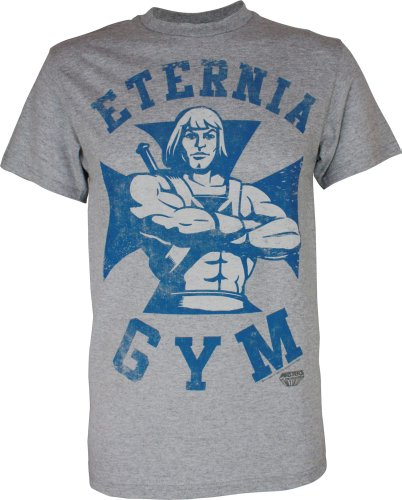 Eternia Gym He-Man Official Licensed Authentic Adult T-Shirt - S or XXL