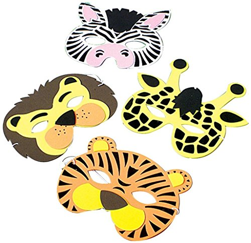 Wild Animal Face Masks