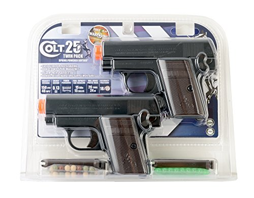 Colt .25 Airsoft Pistol Twin Pack