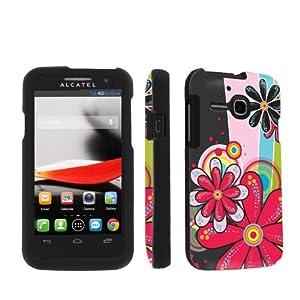 Amazon.com: NakedShield Alcatel One Touch Evolve 5020 Daisy Pop Total