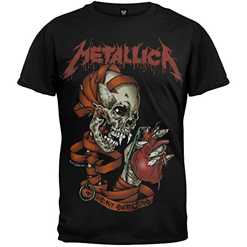 Metallica - Heart Explosive T-Shirt - Large