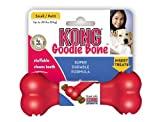 KONG Goodie Bone Dog Toy, Small, Red