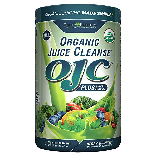 Purity Products - Certified Organic Juice Cleanse - (OJC) Plus - Berry Surprise - New & Improved Extra Large Edition with 5 grams of fiber (12.28 oz - 348 g)... (Organic Juice Cleanse compare prices)