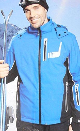 HERREN SKIJACKE Gr. 56 blau SKI SNOWBOARD WINTER OUTDOOR JACKE kaufen