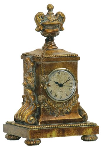 Sterling Home 91-1548 Barcelona Mantle Clock, 10-1/4-Inch Tall