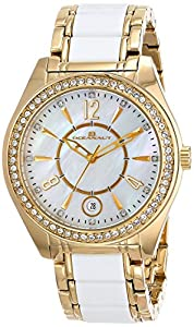Oceanaut Women's OC5410 Pearl Analog Display Quartz Two Tone Watch