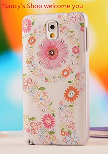 Nancy'S Shop Colorful Painting 3D Hard Cell Phone Accessories Case And Covers For Unlocked Tmobile Samsung Galaxy Note 3 Iii(Sunflower)