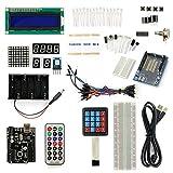 サインスマート Arduino(Uno) をはじめよう互換キット 初心者専用Arduino基本チュートリアルプロジェクト付き! 十種類選択可! (19プロジェクト、1602 LCD、プロトタイプ シールド、キーボード含む! )