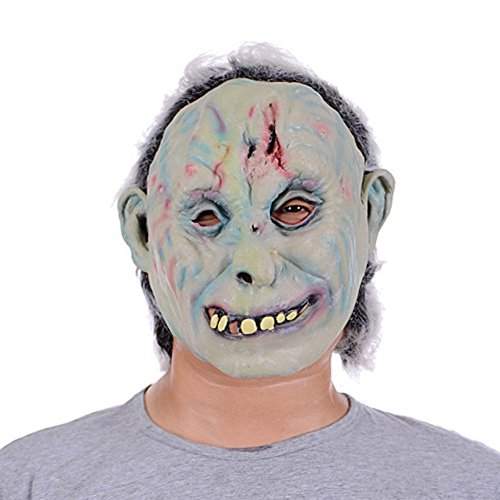 Halloween Mask White Face N-048