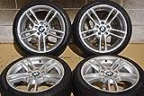 【中古】【タイヤ付きホイール 18インチ】BMW E87 E82 1シリーズ Mスポーツ 後期 純正 18in【I1126Z80H-HP4】