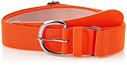 Champro Elastic Baseball Belt with 1.5-Inch Synthetic Tab (Orange, 28-52-Inch)