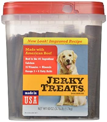 Jerky Treats Tender Strips Dog Snacks Beef