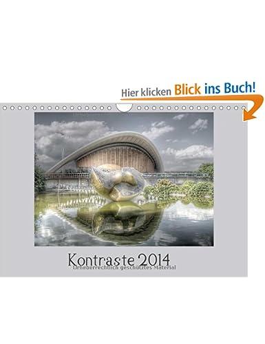 Kalender Kontraste 2014 Dirk Petermann motivraum.de bei Amazon