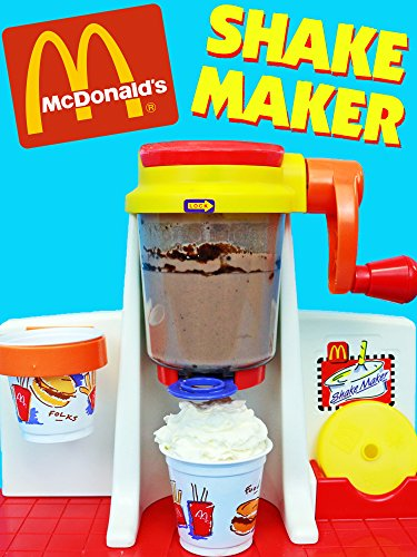 McDonalds SHAKE MAKER Happy Meal Magic Ice Cream Shakes Toy Food For Kids