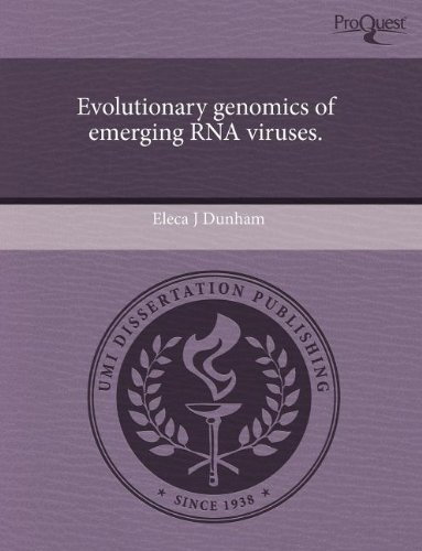 Evolutionary Genomics of Emerging RNA Viruses