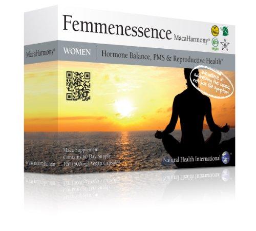 Femmenessence Macaharmony 120 x 500mg vegan capsules