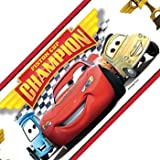 Cars Piston Cup Champions Set of 4 Self-Stick Wall Borders