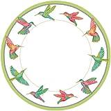 Caspari Dinner Plates, Hummingbirds