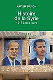 Histoire de la Syrie : 1918 à nos jours