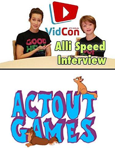 Alli Speed Interview at Vidcon 2015