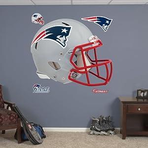 NFL New England Patriots Helmet Wall Graphics by Fathead