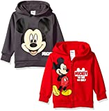 Disney Boys Mickey Mouse 2 Pack Hoodies
