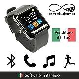 endubro SMARTWATCH U8 OROLOGIO ANDROID DIGITALE TOUCHSCREEN BLUETOOTH - MENÙ IN ITALIANO PER SAMSUNG