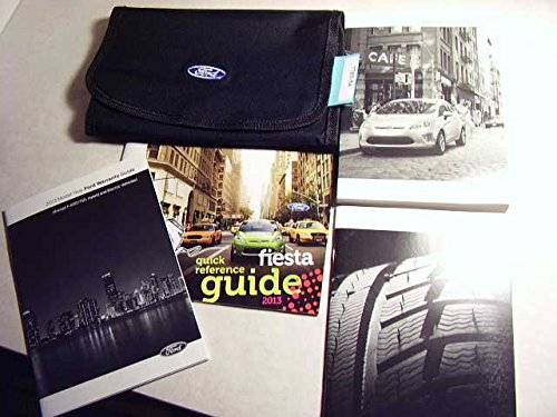 2013 Ford Fiesta Owners Manual (Ford Fiesta Manual compare prices)