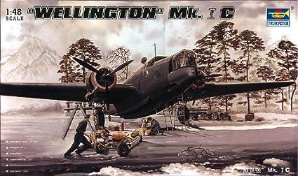 Trumpeter 02808modèle Kit Wellington Mk. 1C