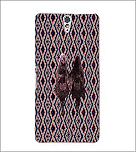 PrintDhaba Mirror Girl D-5734 Back Case Cover for SONY XPERIA C5 ULTRA (Multi-Coloured)