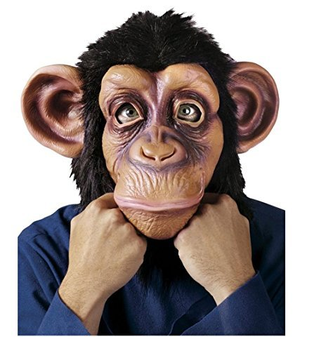 GoLoveY Halloween Latex Rubber Animal Mask (Chimpanzee(Chimp))