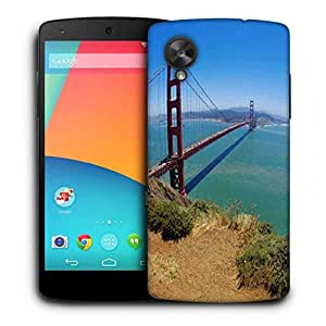 Snoogg Blue Water And Sealing Printed Protective Phone Back Case Cover For LG Google Nexus 5