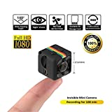 Crazepony Mini Camera SQ11 HD Camcorder 3.6mm Night Vision FOV140 1080P Sports Mini DV Video Recorder