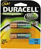 Duracell Rechargeable Batteries AA, 2-Count