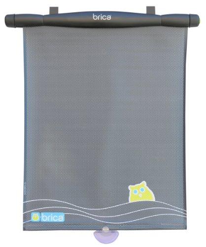 Brica Uv Alert Window Shade, Gray front-964866