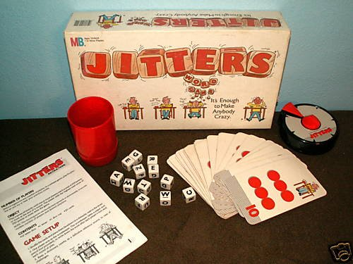 1986 Vintage Jitters Word Game - 1